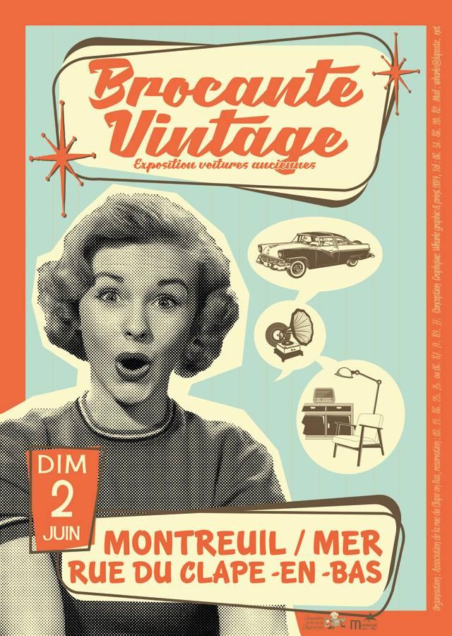 Brocante Vintage Dimanche 2 juin 2019