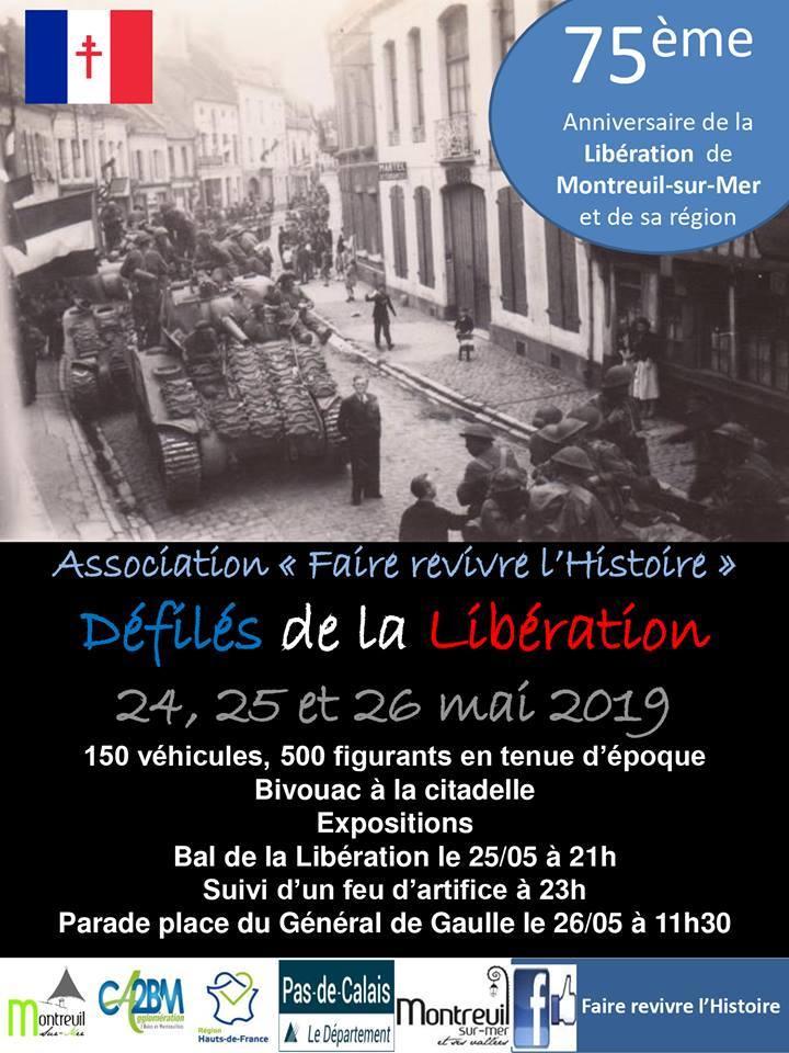 75ème anniversaire de la Libération de Montreuil sur Mer