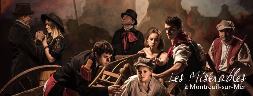 Les Misérables à Montreuil sur Mer à partir du 26 Juillet 2019